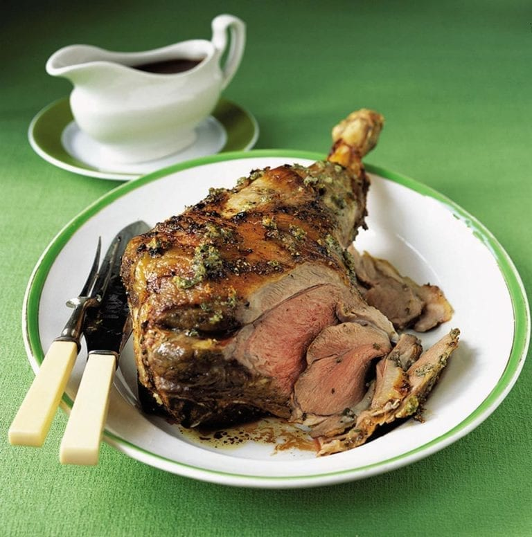 How to butterfly and bone a leg of lamb video
