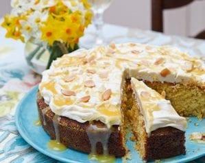 Lemon polenta cake video recipe