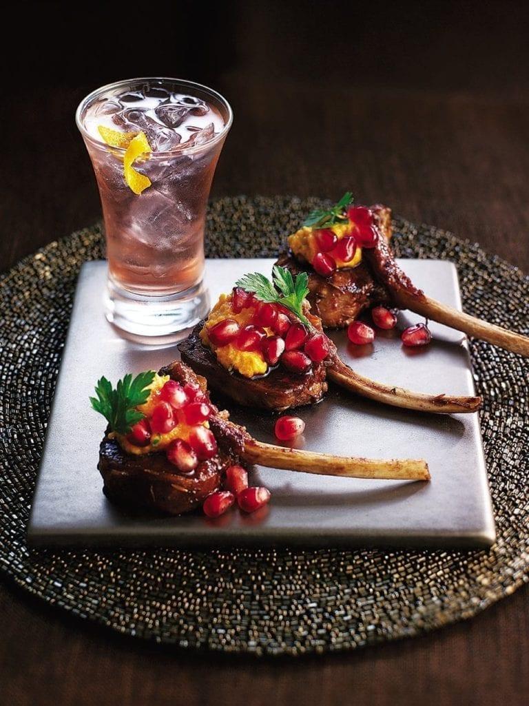 Moroccan lamb cutlets