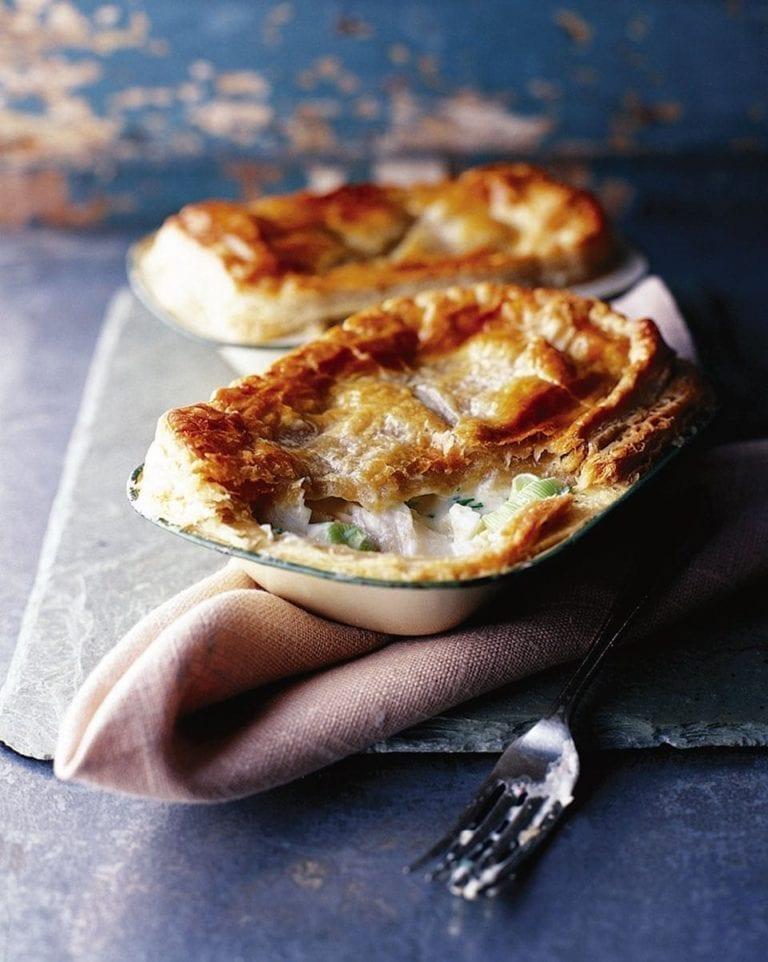 Cullen skink pie