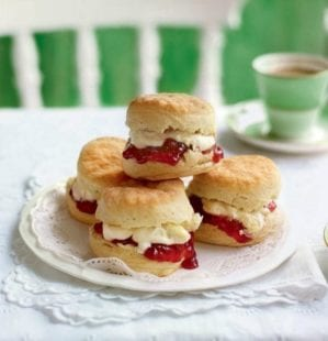 The scone debate: jam first or cream first?
