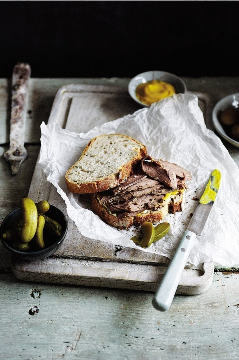 Easy home-cured pastrami