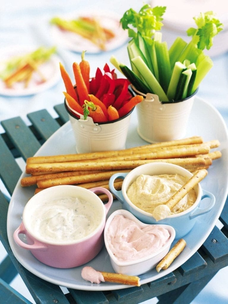 Dips and sticks