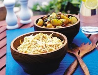 Carrot and cumin coleslaw