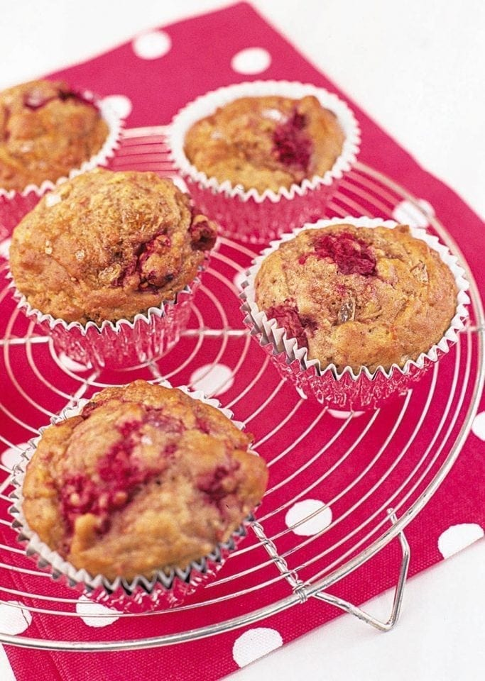 Little raspberry muffins | delicious. magazine