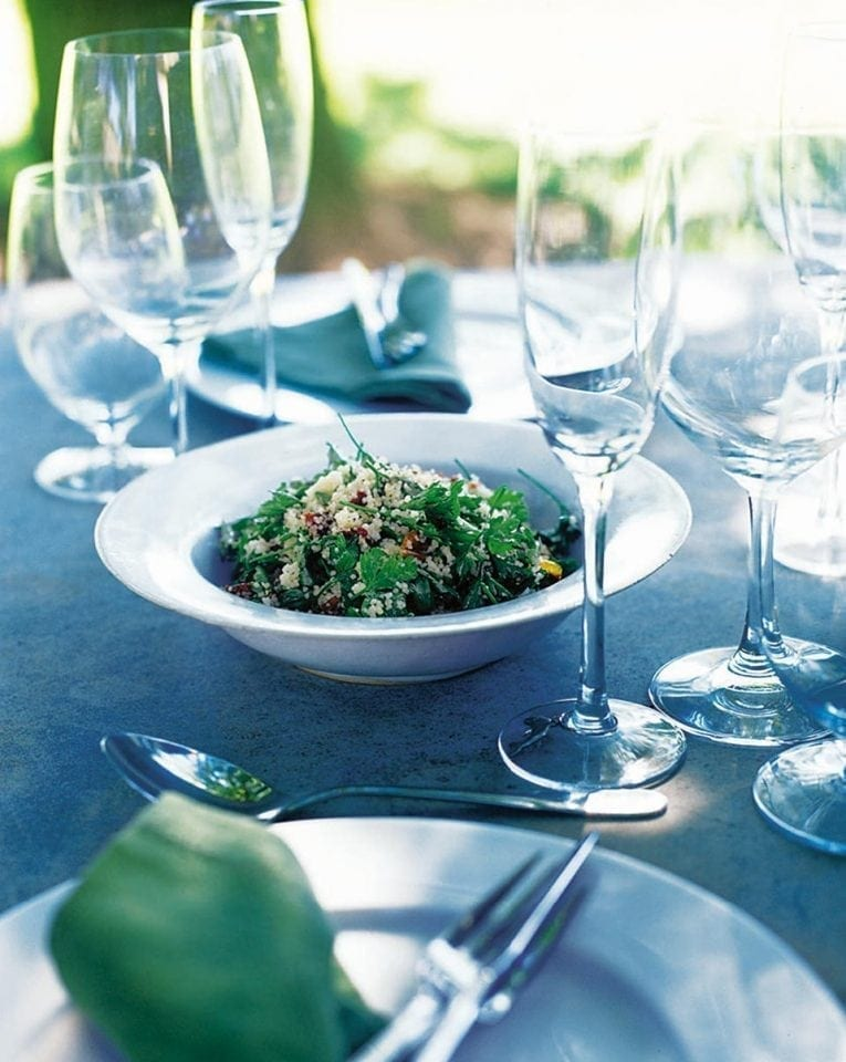 Fresh Italian parsley salad