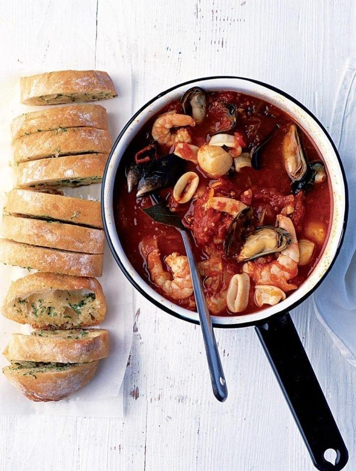 Saffron and seafood stew | delicious. magazine