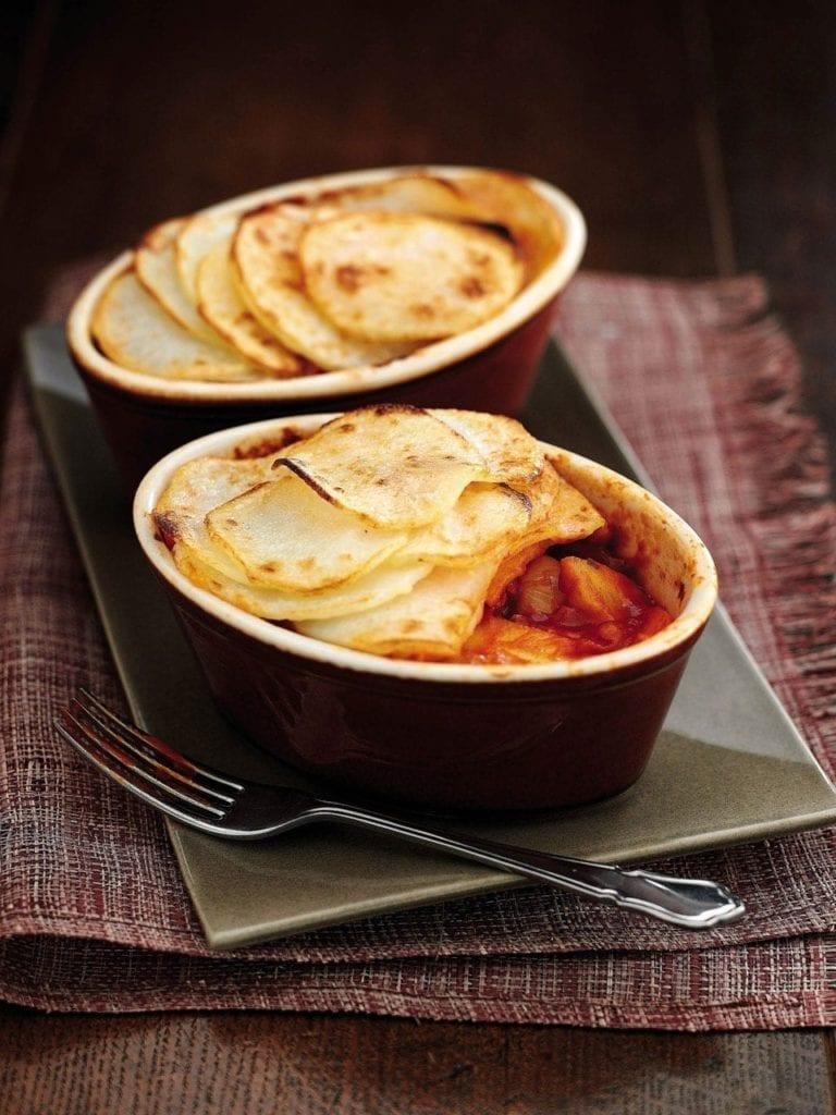 Vegetarian Lancashire hotpots