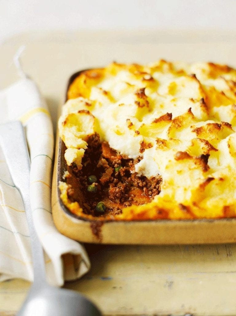 Easy-peasy cottage pie