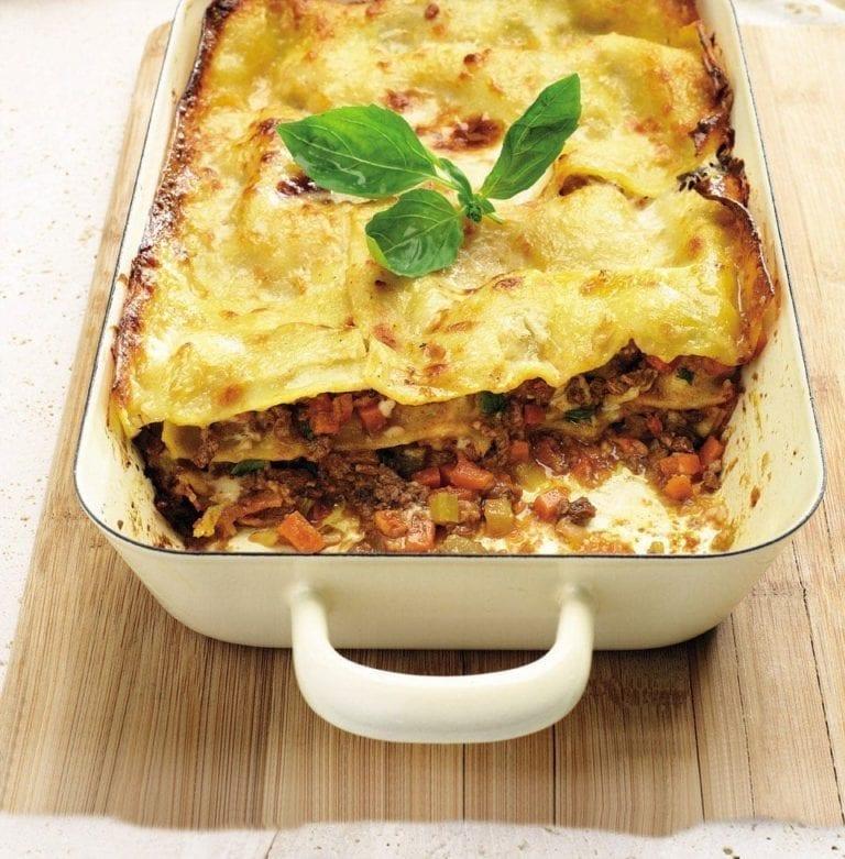 Angela Hartnett's lasagne al forno