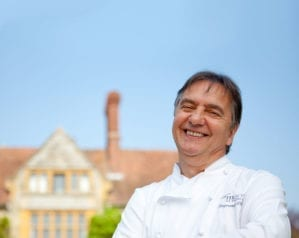 Five minutes with Raymond Blanc