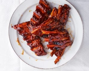 How to make jasmine tea smoked pork ribs