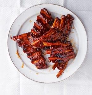 How to make jasmine tea smoked pork ribs