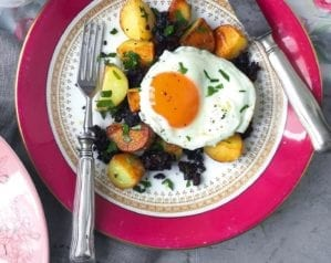 What to do with leftover black pudding