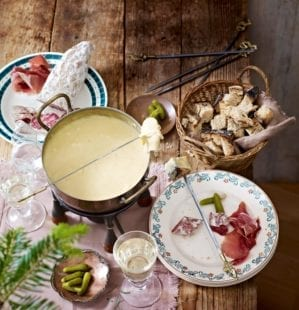 How to make a cheese fondue