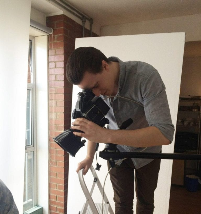 MEET OUR WINNER! Behind-the-scenes shoot with our 2015 photography competition winner