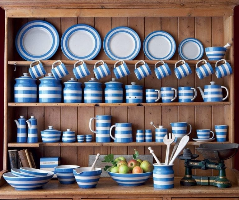 Save 15% on Cornishware pottery