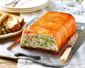 How to make a salmon terrine