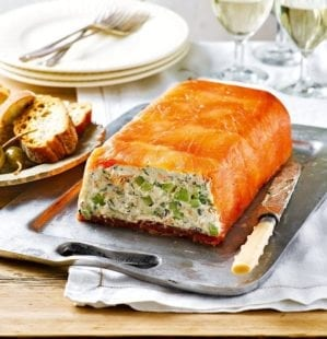 How to make a salmon terrine