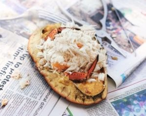 How to prepare cooked crab video