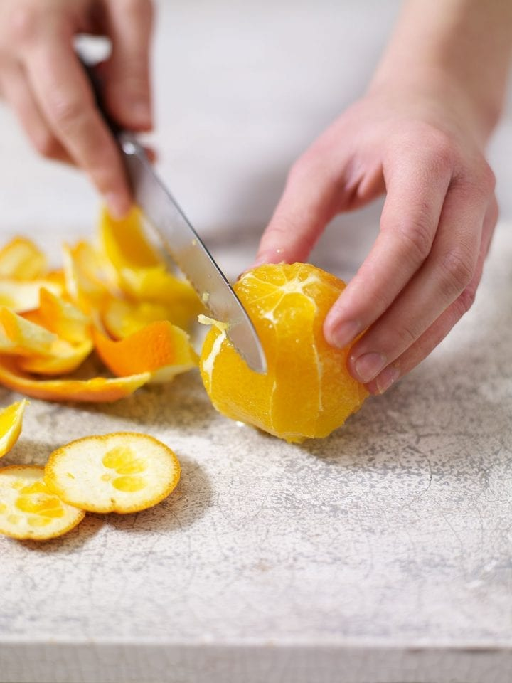 How to segment citrus fruit