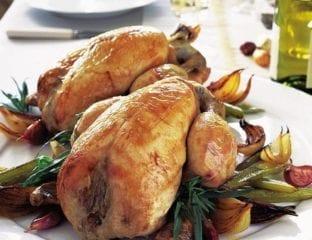 Chicken with '40' cloves of garlic