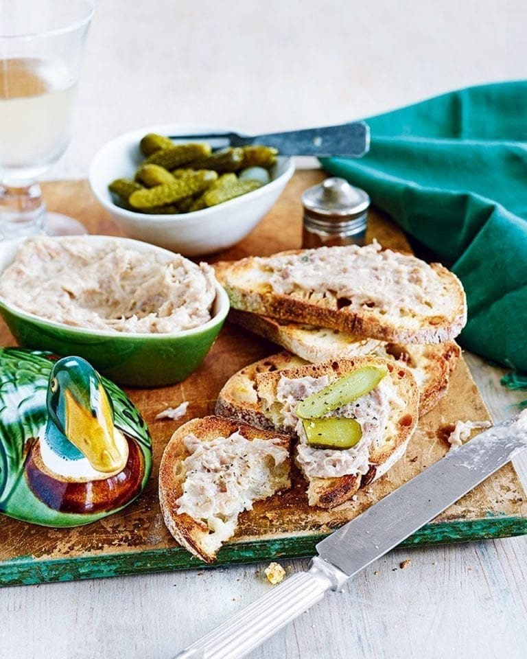How to make duck rillettes