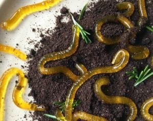 How to make jelly worms for Halloween