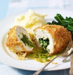 How to make a chicken kiev