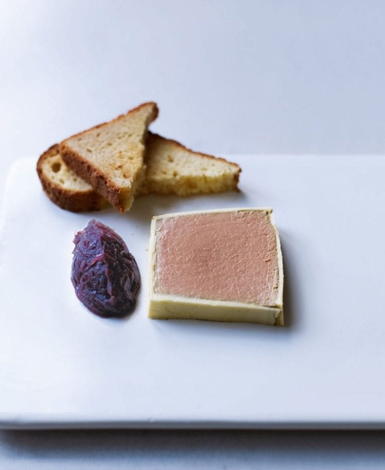 How to make chicken liver parfait