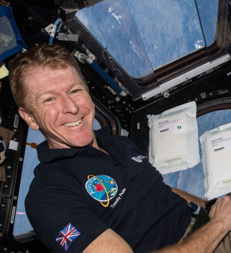 What is it like to eat in space? Tim Peake tells us: listen now