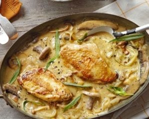 Dijon chicken with mushrooms video recipe