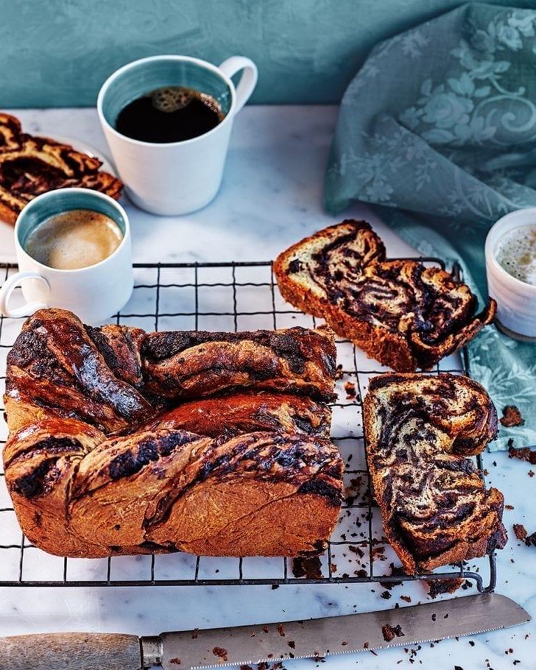 How to make chocolate babka