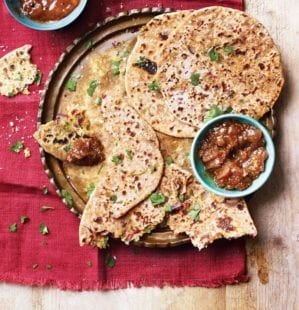 How to make sattu parathas