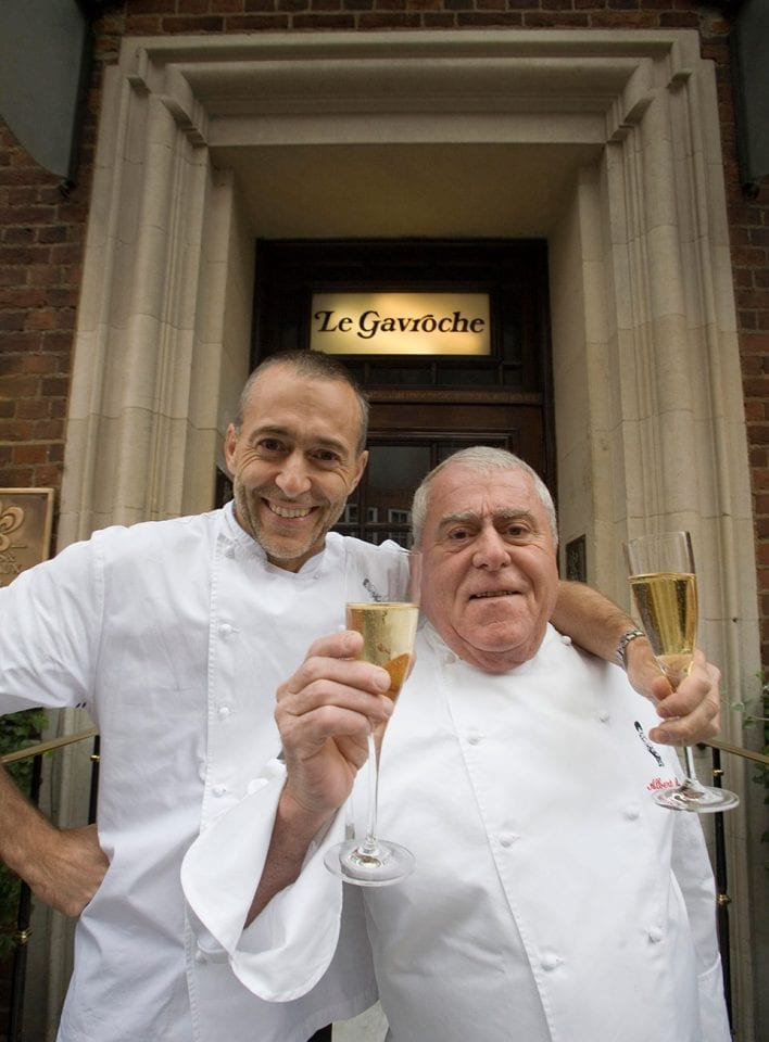 Join us for dinner with Michel Roux Jr