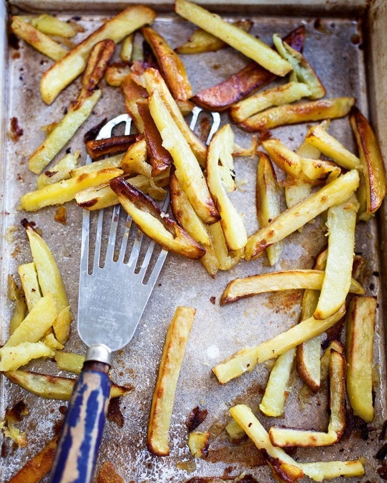 How to make the best crispy oven chips