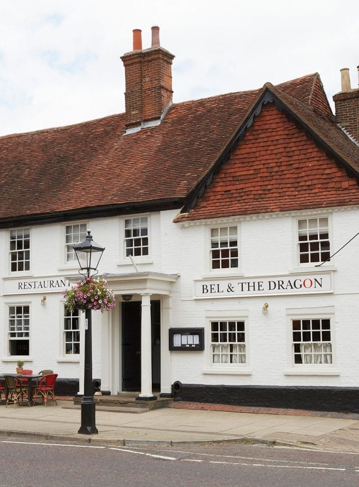 Bel & The Dragon, Odiham, hotel review