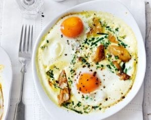Baked egg recipes