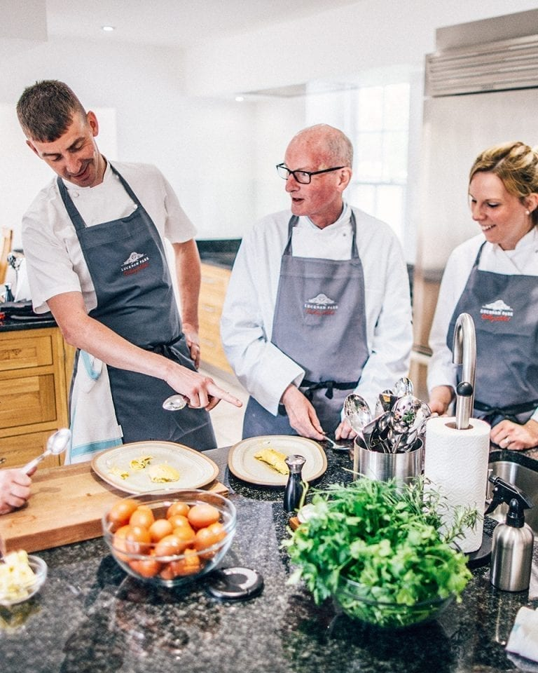 Cookery school review: Lucknam Park Cookery School