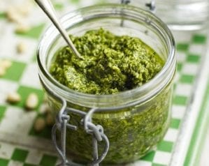 Homemade pesto recipes