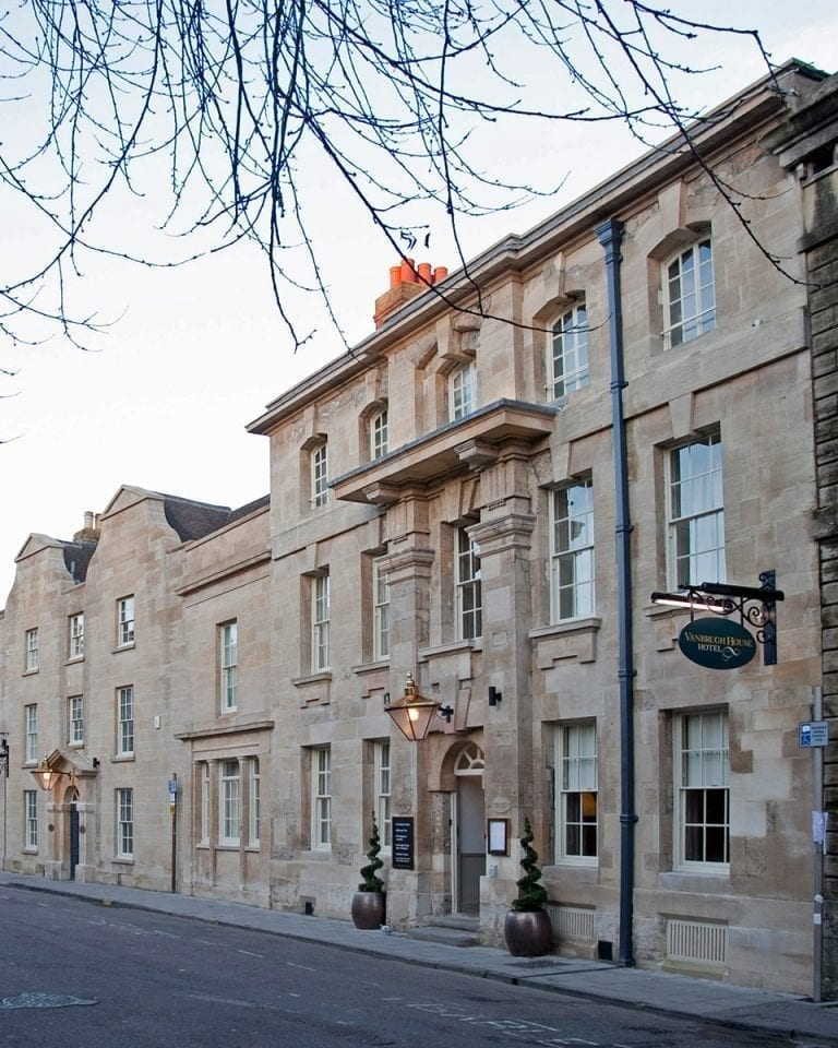 Vanbrugh House Hotel, Oxford, hotel review