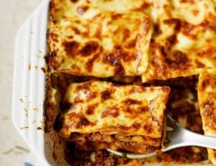 Beef ragù lasagne