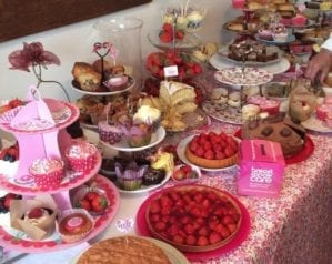 Breast Cancer Care Afternoon Tea case studies