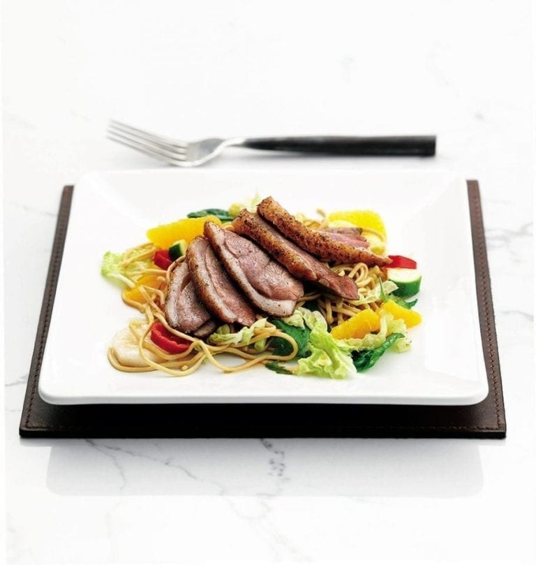 Quick Chinese duck salad