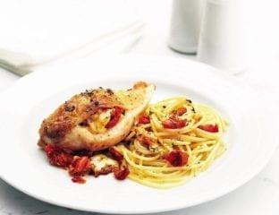 Quick Mediterranean chicken