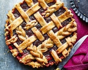 Berry lattice tart video recipe
