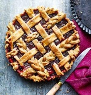 Berry lattice tart video recipe
