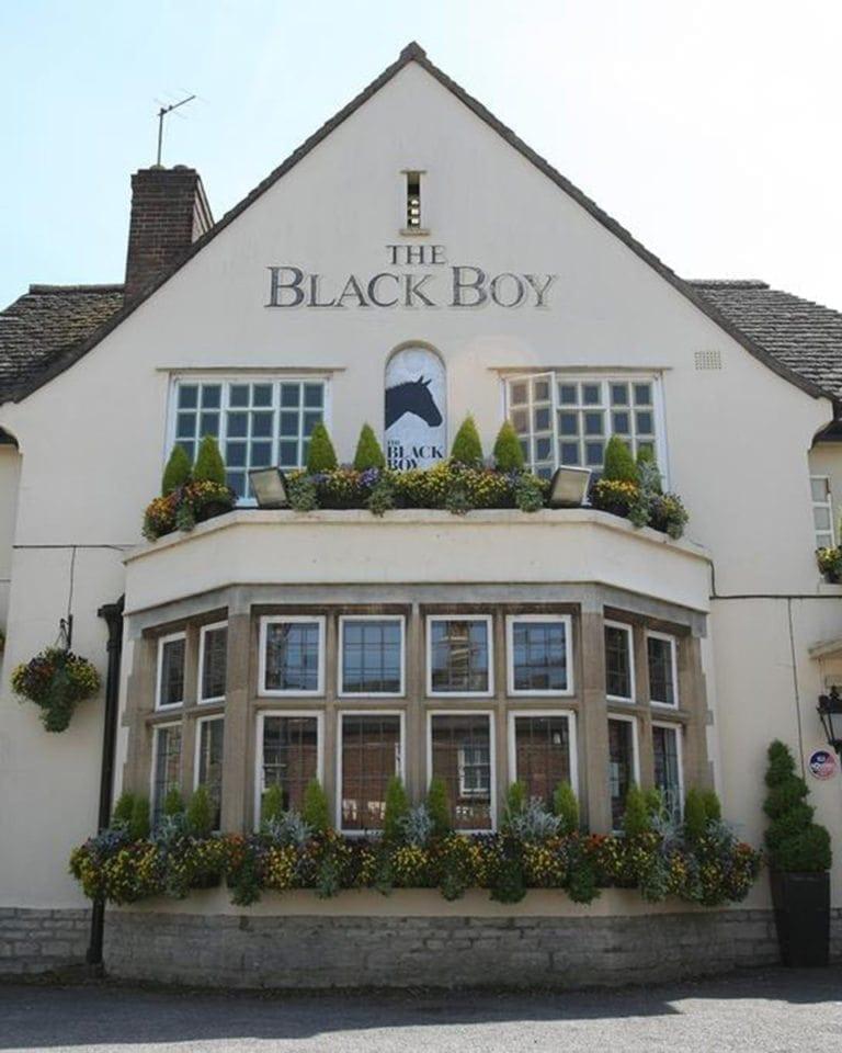The Black Boy, Headington, hotel review