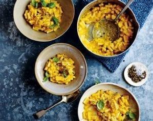 Vegan butternut squash and sage macaroni – video