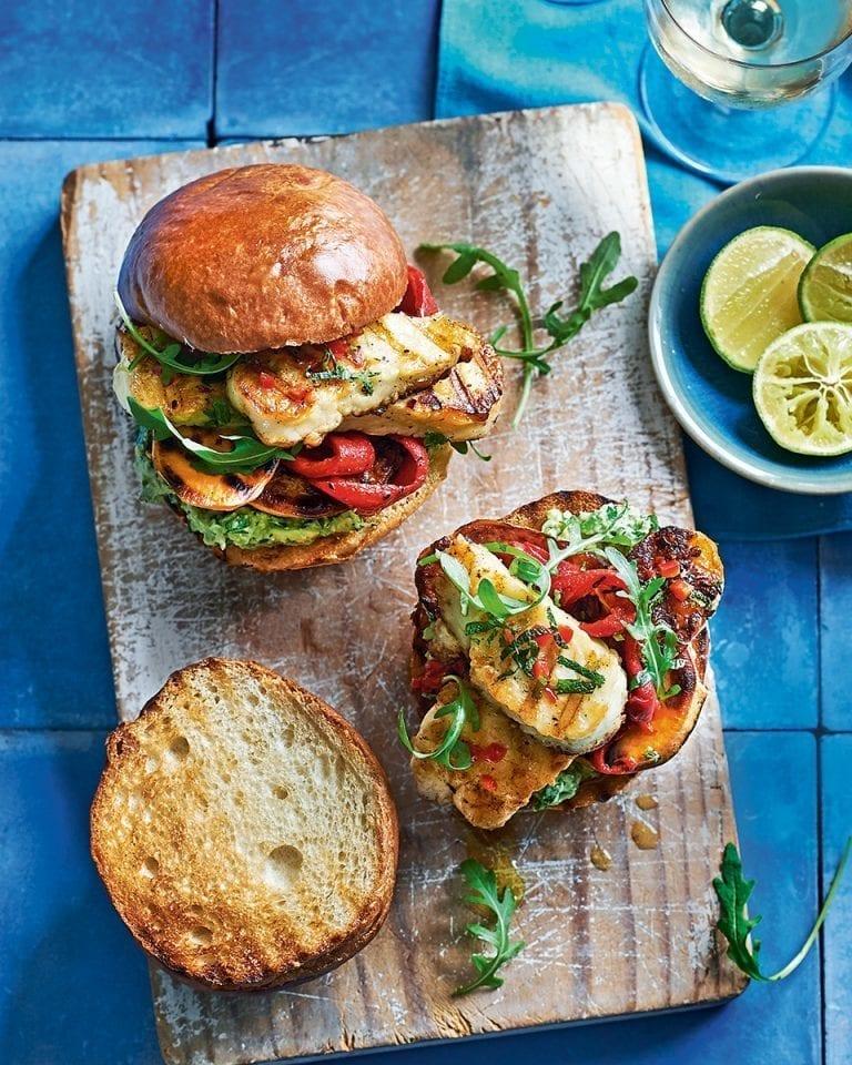 Vegetarian burger recipes